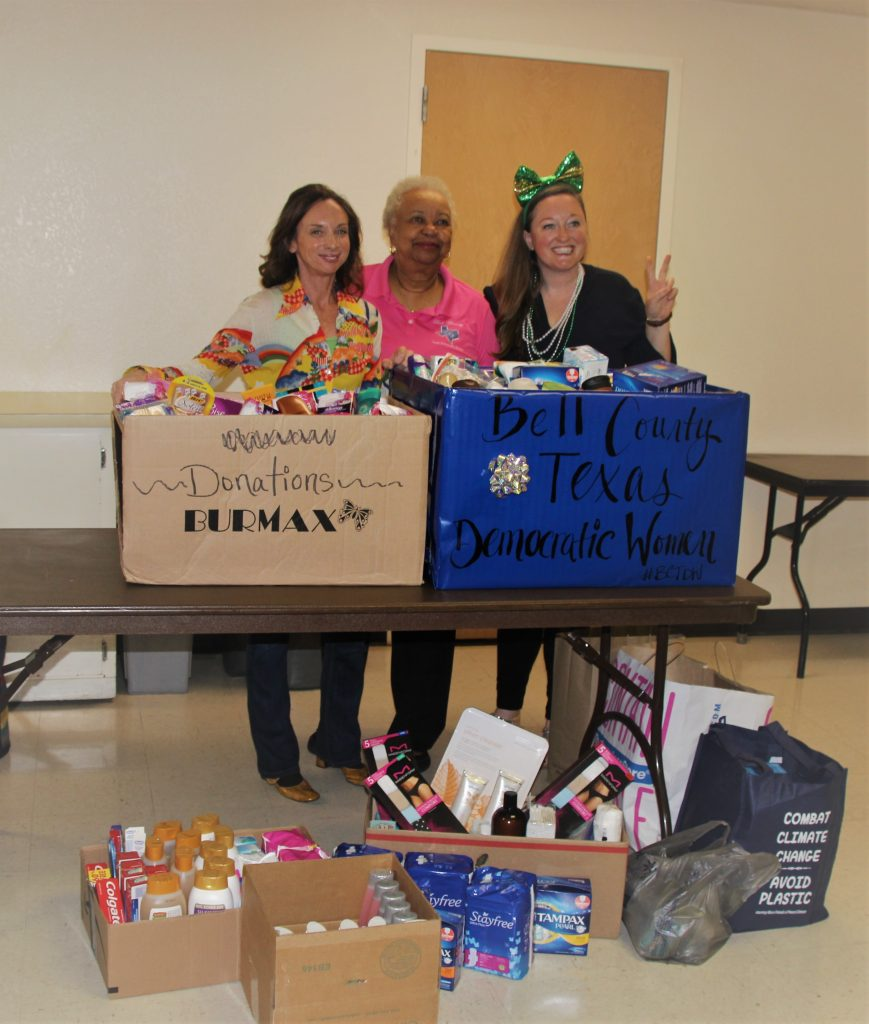 1st Annual Collection for the Killeen Women's Shelter