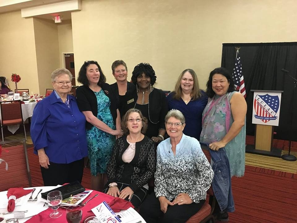 BCTDW women at LULAC 4535 Banquet